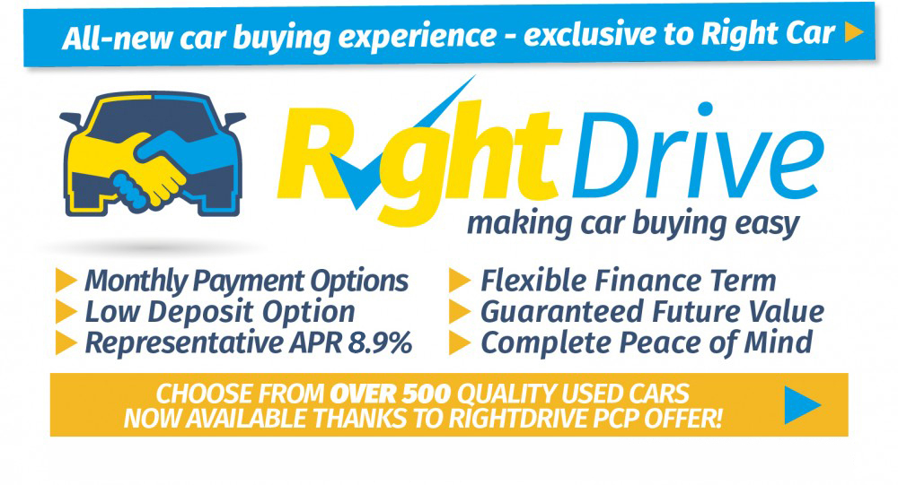 Right Drive Banner