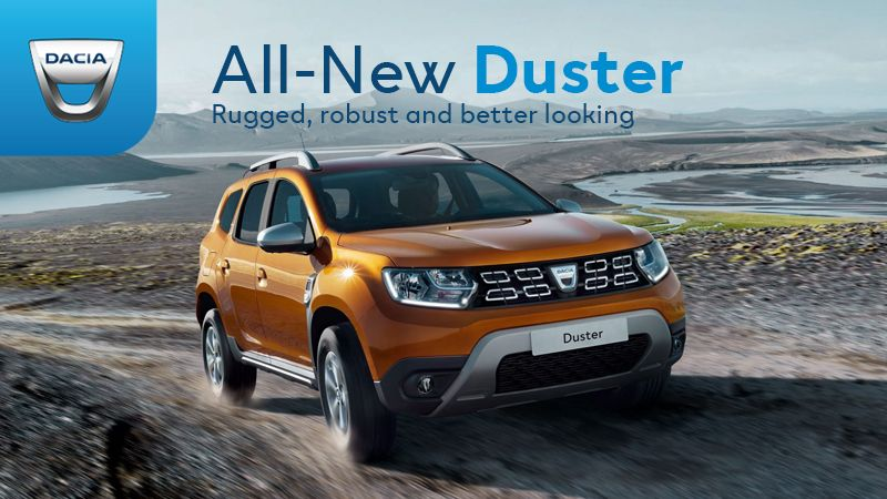 all new duster
